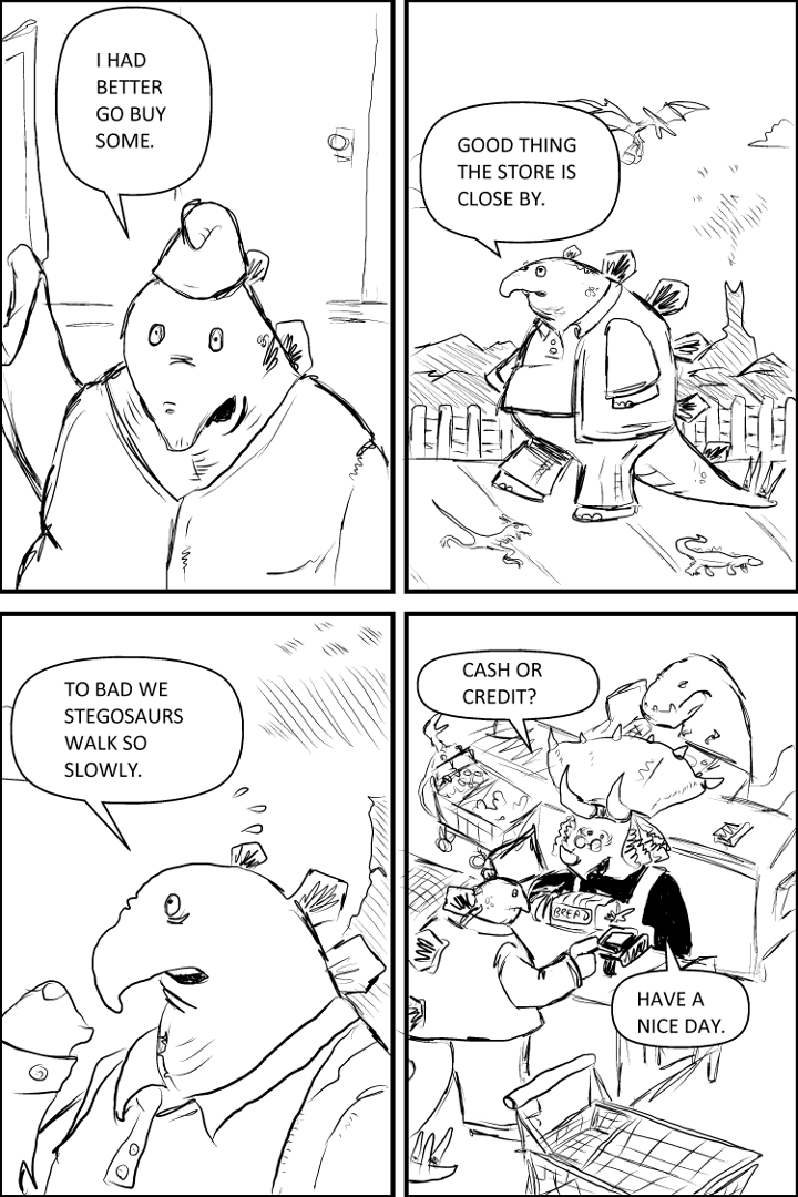 Peanut Butter and Jelly for Stegosaurus – Page 2