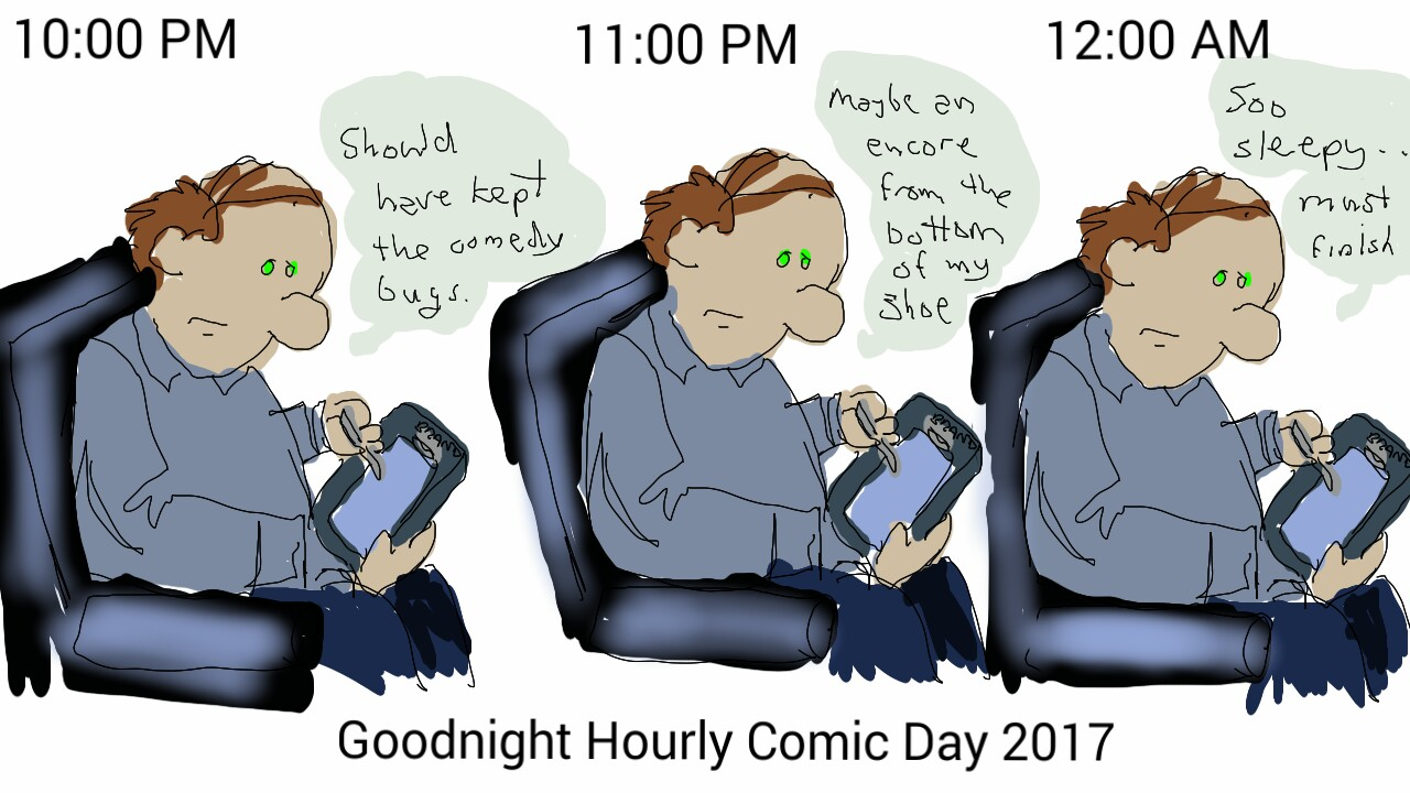 Hourly Comic Day 2017 – 10:00pm to Midnight